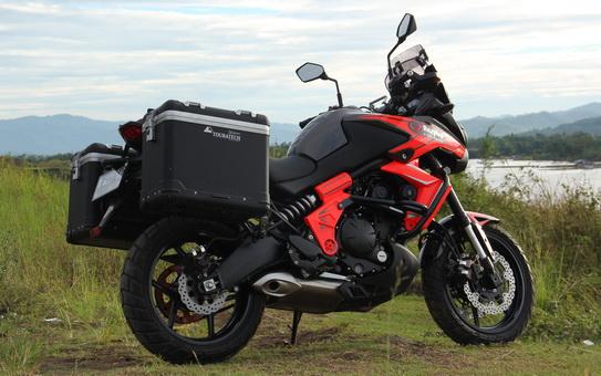 Modifikasi Kawasaki Versys 650 Berpadu Dengan SINNOB