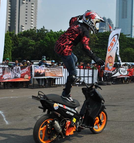 Modifikasi Motor Matic Untuk Freestyle Kumpulan Modifikasi Motor