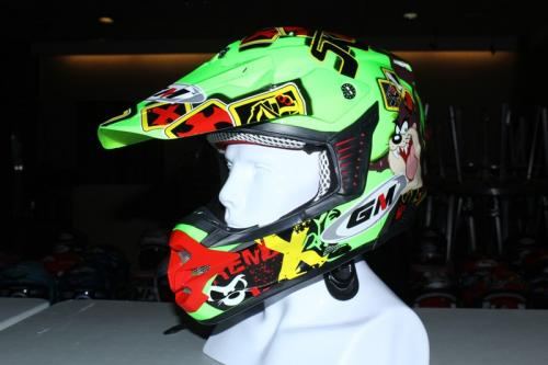 Helm GM Mini Cross, Gak Perlu Diganjal Handuk