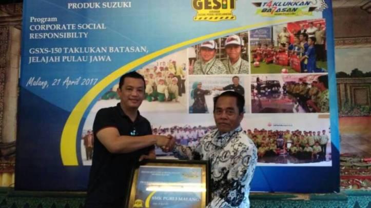 Donasi-CSR-Suzuki-GSX-S150-Malang