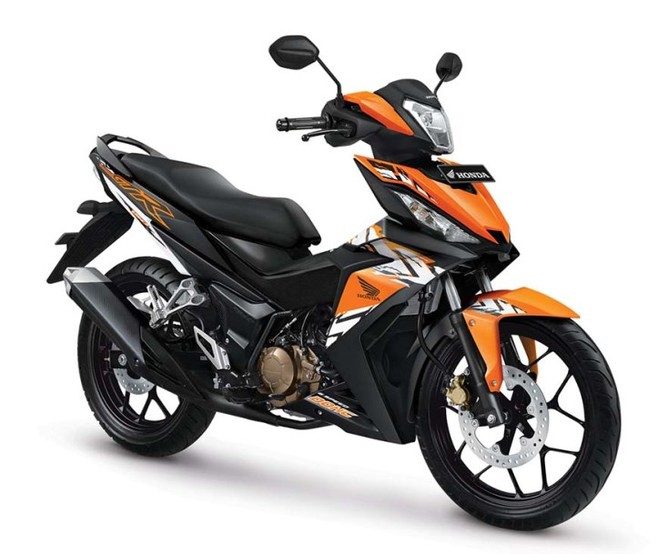 New-Honda-Supra-GTR150-Nitric-Orange