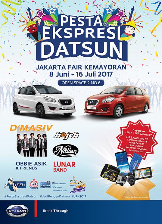Datsun menawarkan program spesial di Jakarta Fair Kemayoran 2017